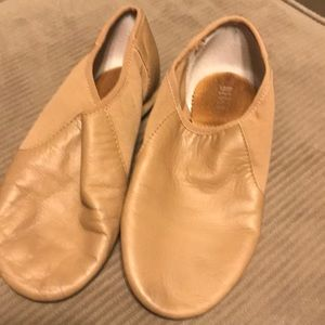 Nude colored Jazz shoes